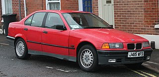 BMW 3 Series (E36) third generation of the 3 Series compact executive cars produced by BMW