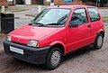 1995 Fiat Cinquecento 900cc Front.jpg