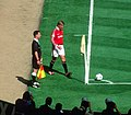 1999 FA Cup Final Beckham corner (cropped).jpg