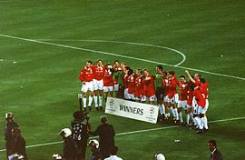 1999 UEFA Champions League celebration.jpg