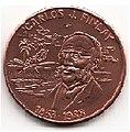 1 песо. Куба. 1988. 155 лет со дня рождения Карлоса .jpg