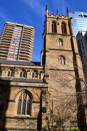 St Philip's Church, Sydney - Image: 1 St Philips 4