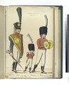 1 Tambour-major du reg -t de Caralogne; 2. Musicien du reg-t de la Princesse. (1806) (NYPL b14896507-87936).tiff