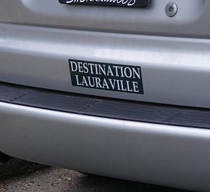 Lauraville, Baltimore - Lauraville bumper sticker