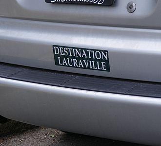 Lauraville, Baltimore - Lauraville bumper sticker
