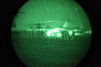 Operation Moshtarak - 1st Battalion, 6th Marines board CH-53E Super Stallion on February 13.
