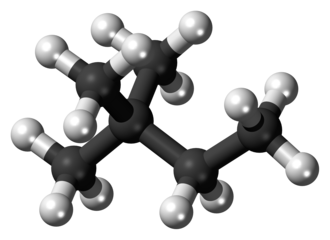 2,2-Dimethylbutane - Image: 2,2 Dimethylbutane 3D balls