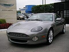 2001 Aston Martin DB7 Vantage Coupe
