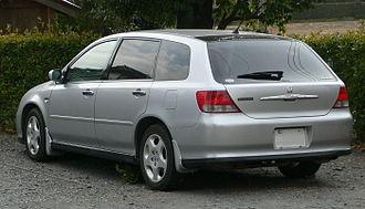 Honda Avancier - Image: 2001 Honda Avancier 02
