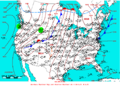 2005-04-18 Surface Weather Map NOAA.png