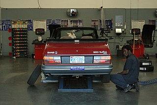 Automobile repair shop