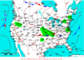 2009-06-15 Surface Weather Map NOAA.png