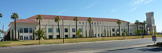 California State University, Fresno - Save Mart Center, home to the Fresno State basketball team