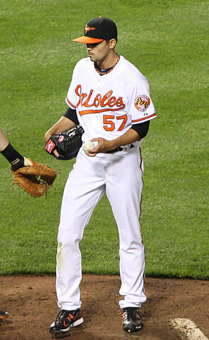 Clay Rapada - Rapada with the Orioles in 2011