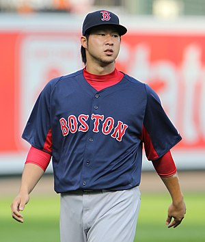 Junichi Tazawa - Tazawa with the Red Sox in 2011