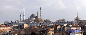 History of the Ottoman Empire - Süleymaniye Mosque (1558)