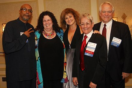 Baraka (left) with other recipients of the Vicki Sexual Freedom Award, 2011 2011 Vicki Sexual Freedom Award recipients.jpg