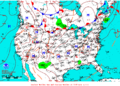 2013-07-18 Surface Weather Map NOAA.png