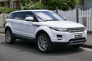 Range Rover Evoque - Image: 2013 Land Rover Range Rover Evoque (L538 MY13.5) SD4 Pure Tech 4WD 5 door wagon (2015 11 13) 01