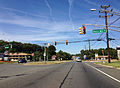 2014-08-29 14 48 44 View north along U.S. Route 206 at Dunn's Mill Road in Bordentown Township, New Jersey.JPG