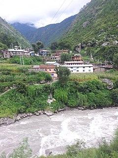Syaphru Village development committee in Bagmati Zone, Nepal