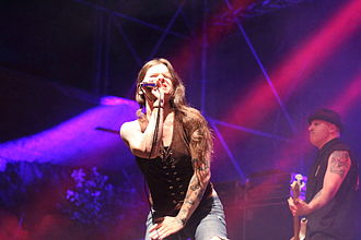 Life of Agony - Mina Caputo at the PictureOn Festival 2014