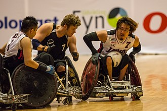 Disability in Japan - 2014 IWRF World Championship.