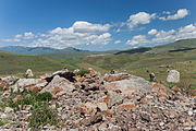 2014 Prowincja Sjunik, Zorac Karer, Prehistoryczny kompleks megalityczny (034).jpg