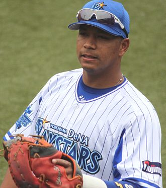 José López (baseball) - López with the Yokohama DeNA BayStars