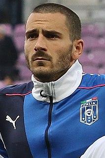 Leonardo Bonucci Italian footballer