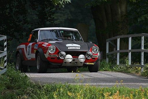 2015 Rally Bohemia - Rally Legend - Fiat 124 Abarth Rally