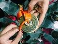 2015 Shanghai half marathon medal.jpg