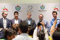 2015 Wikimania press conference-28.jpg