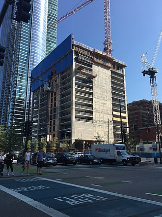 One Grant Park - Construction site in September 2017