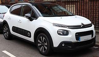 Citroën C3 Supermini car produced by Citroën