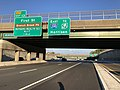 2018-07-18 19 04 45 View east along Interstate 280 (Essex Freeway) just east of Exit 12 in East Orange, Essex County, New Jersey.jpg