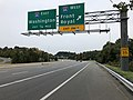 2018-10-26 13 43 07 View south along Virginia State Route 286 (Fairfax County Parkway) at the exit for Interstate 66 WEST (Front Royal) in Fair Lakes, Fairfax County, Virginia.jpg