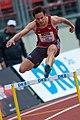 2018 DM Leichtathletik - 400-Meter-Huerden Maenner - Robert Wolters - by 2eight - DSC7196.jpg