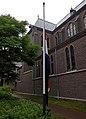 2018 Maastricht, Zusters Onder de Bogen, vlag halfstok.jpg