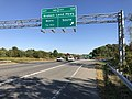 2019-09-25 16 20 01 View east along Maryland State Route 32 (Patuxent Freeway) at Exit 14B (Broken Land Parkway SOUTH) in Columbia, Howard County, Maryland.jpg