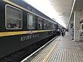 201906 Coaches of K1073 at Yueyang Station Platform 1.jpg