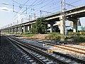 201908 Tracks at Luohuang Station and Chongqing-Guiyang Railway.jpg