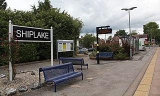 Shiplake railway station Railway station in the village of Lower Shiplake, Oxfordshire, England