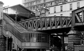 La Motte-Picquet – Grenelle - Image: 280024136 caba 3d 4a 4d b Metro de Paris station La Motte Piquet