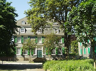Friedrich Engels - The Engels family house at Barmen (now in Wuppertal), Germany