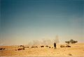 2nd Battalion, 142nd Field Artillery fire mission, Operation Desert Storm.jpg
