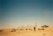 2nd Battalion, 142nd Field Artillery fire mission, Operation Desert Storm