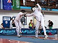 2nd Leonidas Pirgos Fencing Tournament. Double touch for the two fencers.jpg