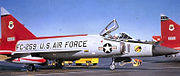 317th Fighter-Interceptor Squadron - Convair F-102A-70-CO Delta Dagger - 56-1259