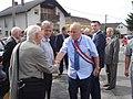 350. obljetnica pada Novog Zrina u Donjoj Dubravi - pozdrav D.Feletar-I.Petriš.jpg